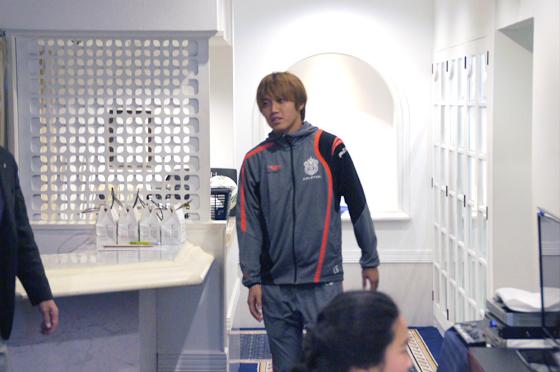 藤田征也選手(14番)
